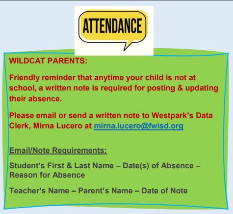 Your Attendance Counts!