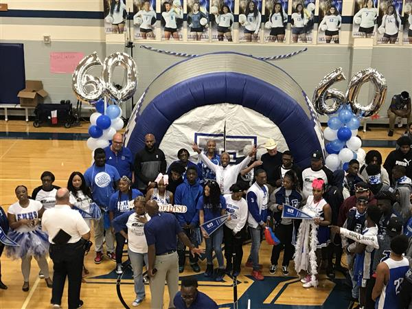 Eastern Hills kicks off Homecoming Weekend with CBS 11 Pep Rally 60 Years Strong#EastsidePride
