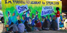 I.M. Terrell STEM & VPA Academy Groundbreaking