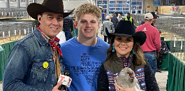 AHHS Competes In Fort Worth Stock Show and Rodeo