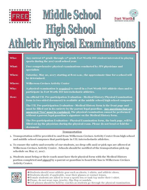 sports physical form mississippi  Middle School-High School Athletic Physical Examinations