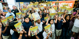 Shulkey ES Rounds Up Hundreds Of New Student Books, Resources