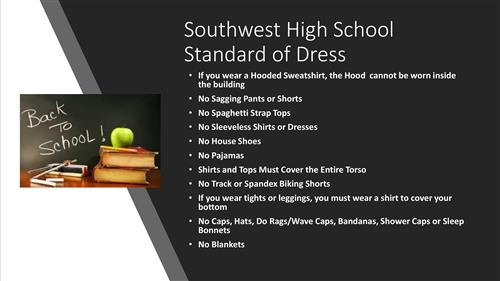 Southwest High School Standard of Dress