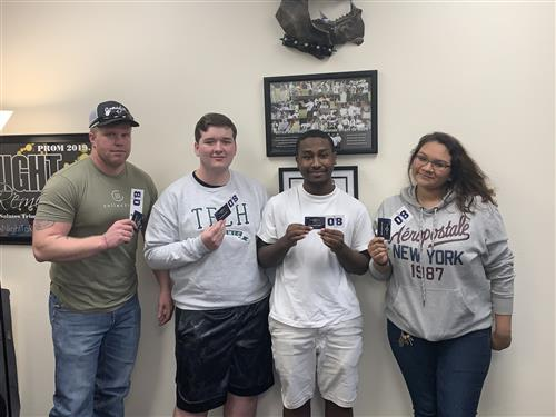 3 Students Received Tickets to Mavericks Game