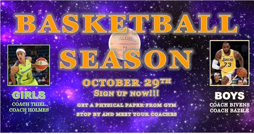 Basketball Sign up
