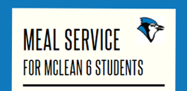 Meal Service for Mc6 Students