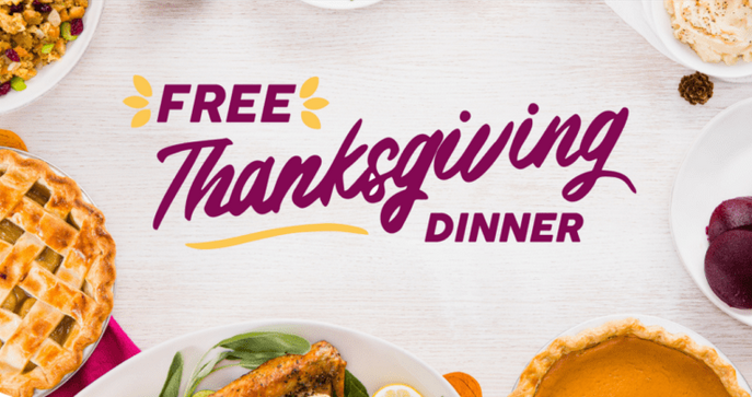 FREE Thanksgiving Dinners