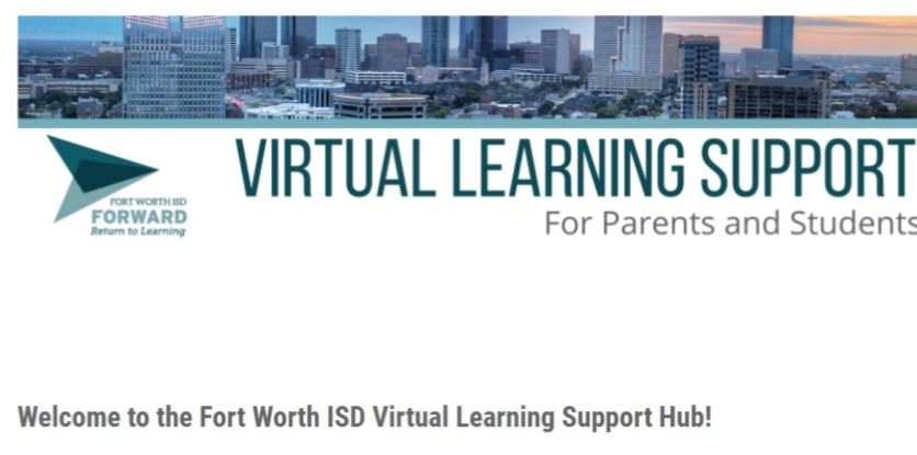 Virtual Learning Support Hub