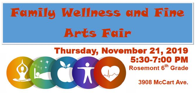 Wellness and Fine Arts Fair
