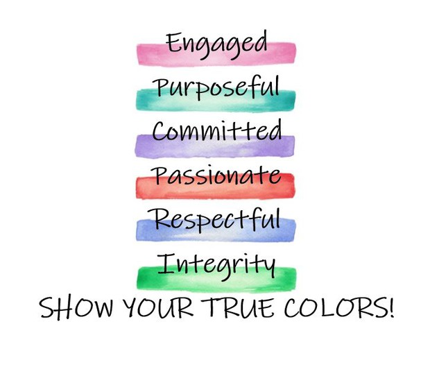 Show Your True Colors!