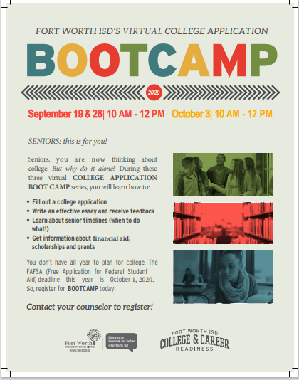 Virtual College Application Boot Camp