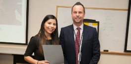 Principal Cortes Rangel and Alice Contreras Elementary Honored for Spectacular Student Engagement
