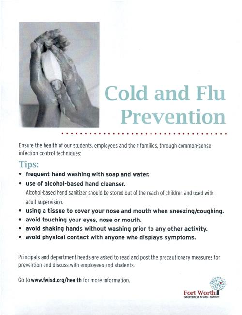 Cold and Flu Prevention