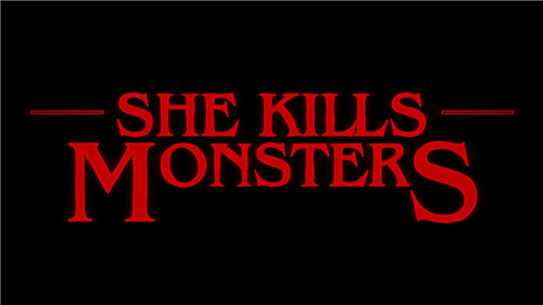 She Kills Monsters COMING NOV.  20-22 to the BlackBox Theatre!