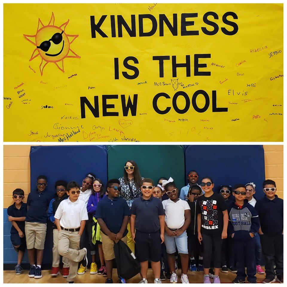 Our Dragons Participate in Kindness Week: Kindness is the New Cool